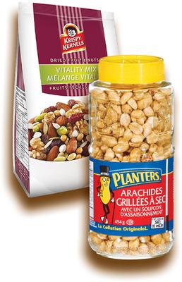 ARACHIDES PLANTERS | PLANTERS PEANUTS, KRISPY KERNELS FRUIT‑NUTS