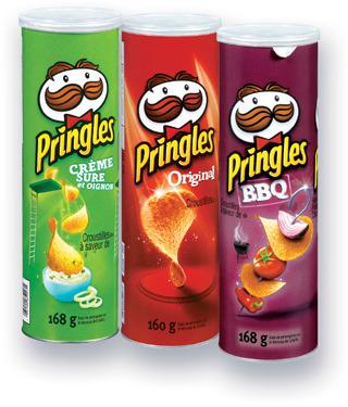 CROUSTILLES PRINGLES | PRINGLES POTATO CHIPS