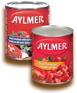 TOMATES AYLMER | AYLMER TOMATOES