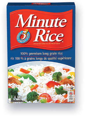 RIZ INSTANTANÉ MINUTE RICE | MINUTE RICE INSTANT RICE