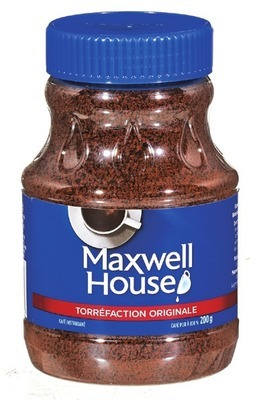 CAFÉ INSTANTANÉ MAXWELL HOUSE | MAXWELL HOUSE INSTANT COFFEE