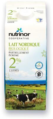 LAIT NORDIQUE NUTRINOR | NUTRINOR NORDIC MILK