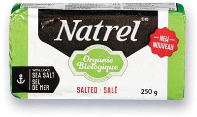 BEURRE BIOLOGIQUE NATREL | NATREL ORGANIC SALTED BUTTER