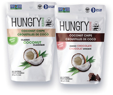 CROUSTILLES DE COCO HUNGRY BUDDHA | HUNGRY BUDDHA COCONUT CHIPS