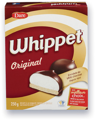 BISCUITS WHIPPET DARE | DARE WHIPPET COOKIES