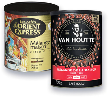 CAFÉ MOULU VAN HOUTTE | VAN HOUTTE GROUND COFFEE OR COFFEE BEANS