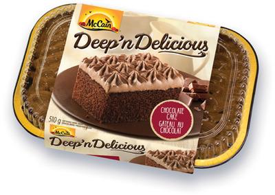 GÂTEAU DEEP'N DELICIOUS MCCAIN | MCCAIN DEEP'N DELICIOUS CAKE, PIE