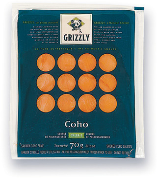 SAUMON COHO FUMÉ GRIZZLY   GRIZZLY SMOKED COHO SALMON