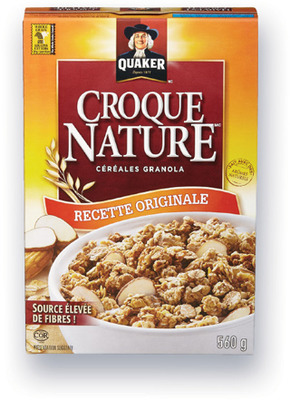CÉRÉALES CROQUE NATURE QUAKER | QUAKER HARVEST CRUNCH CEREAL