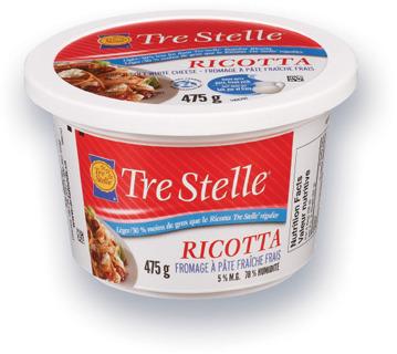 RICOTTA TRE STELLE | TRE STELLE RICOTTA