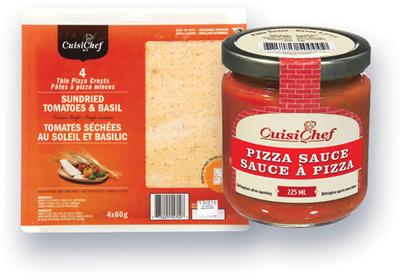 SAUCE À PIZZA CUISICHEF | CUISICHEF PIZZA SAUCE, PIZZA CRUSTS