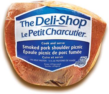 ÉPAULE PICNIC DE PORC FUMÉE LE PETIT CHARCUTIER | THE DELI-SHOP SMOKED PORK PICNIC SHOULDER