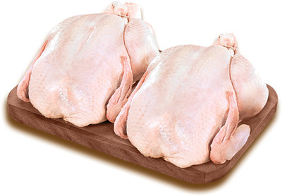 POULETS ENTIERS FRAIS | FRESH WHOLE CHICKENS DUO PACK