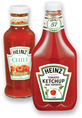 KETCHUP AUX TOMATES HEINZ | HEINZ TOMATO KETCHUP