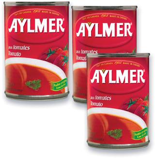 SOUPE AUX TOMATES AYLMER   AYLMER TOMATO SOUP