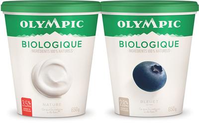 YOGOURT BIOLOGIQUE OLYMPIC | OLYMPIC ORGANIC YOGURT
