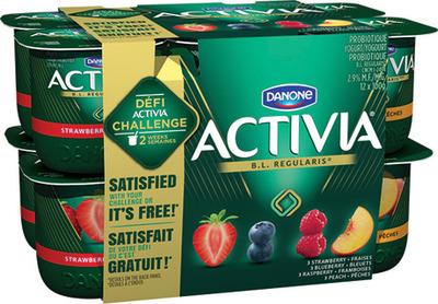 YOGOURT DANONE ACTIVIA | DANONE ACTIVIA YOGURT