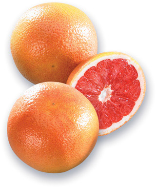 PAMPLEMOUSSES ROUGES | RED GRAPEFRUIT