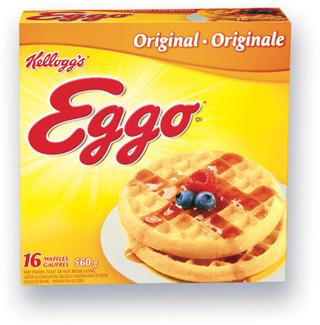 GAUFRES EGGO KELLOGG'S | KELLOGG'S EGGO WAFFLES