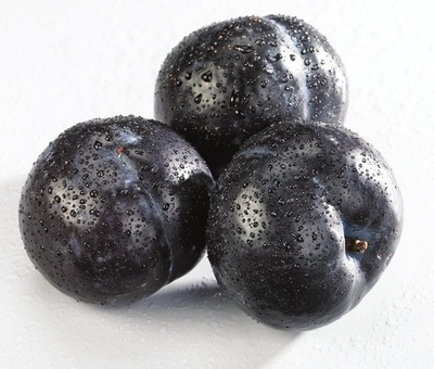 PRUNES NOIRES | BLACK PLUMS