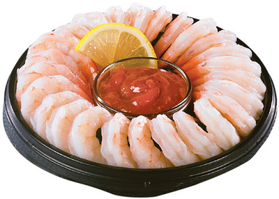 Irresistibles Black Tiger Shrimp Ring with Sauce