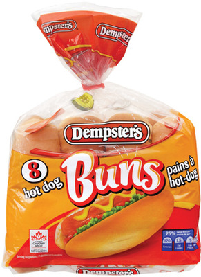 Dempster's Hot Dog or Hamburger Buns