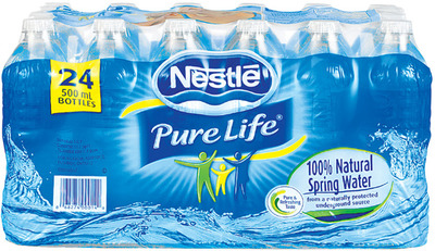 Nestlé Pure Life Natural Spring Water|Eau de source naturelle Pure Life Nestlé