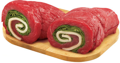 PLATINUM GRILL ANGUS INSIDE ROUND LONDON BROIL, ALOUETTES, PINWHEELS OR STUFFED CUTLETS