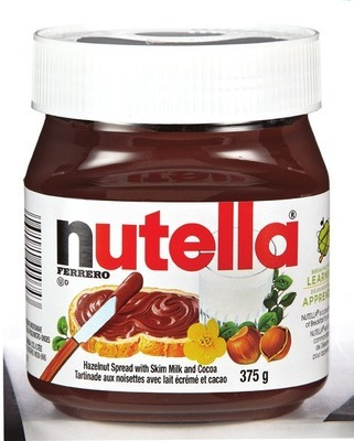 Nutella Spread 375 g Smucker's Jam 500 ml or Selection Liquid honey 250 g