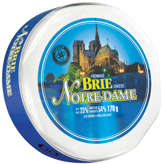 Anco Gouda or Swiss Cheese, L'Extra Camembert or Notre-Dame Brie Cheese