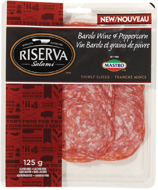 MASTRO OR RISERVA SLICED SALAMI
