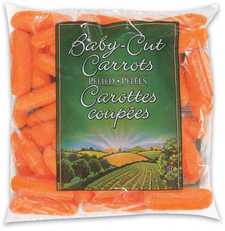PEELED BABY-CUT CARROTS