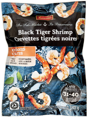 AQUA STAR WILD ALASKAN SOCKEYE SALMON FILLETS/IRRESISTIBLES BLACK TIGER SHRIMP