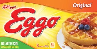 Kellogg's Eggo Waffles or Pancakes