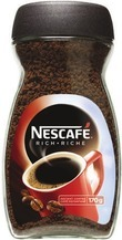 Nescafé Instant Coffee 170g or Tetley Tea 72's