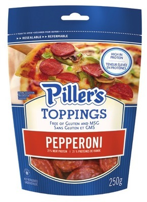 PILLER'S SLICED PIZZA PEPPERONI