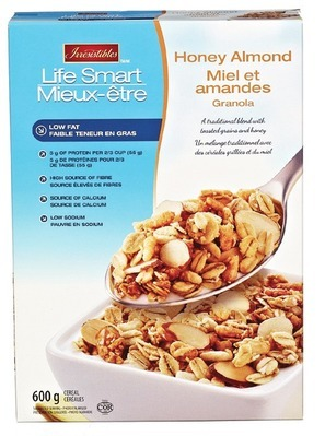 IRRESISTIBLES GRANOLA CEREAL 450 - 600 g OR SELECTION CHEESE SLICES 210 - 230 g