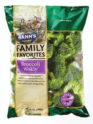 MANN'S BROCCOLI WOKLY OR STIR FRY VEGETABLES