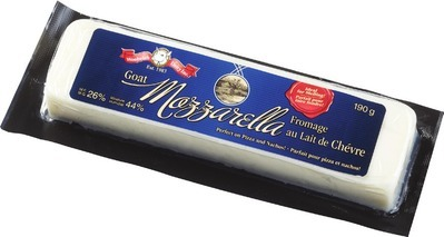 WOOLWICH MEDIUM GOAT CHEDDAR OR GOAT'S MOZZARELLA CHEESE