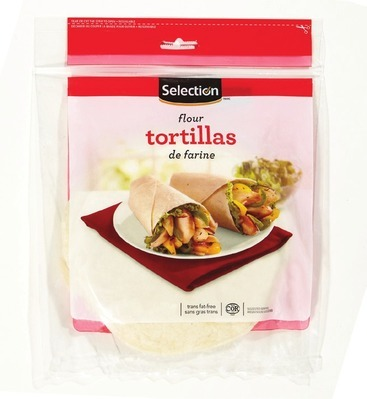 SELECTION FLOUR TORTILLAS