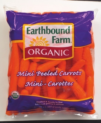Earthbound Farm® ORGANIC PEELED BABY CARROTS
