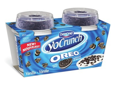 DANONE YOCRUNCH YOGURT