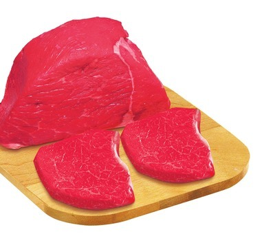 Red Grill Outside Round Roast or Value Pack Steak