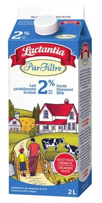 Lactantia Purfiltre Milk or Silk Refrigerated Drinks