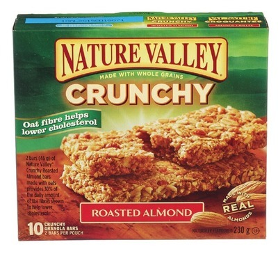NATURE VALLEY OR GENERAL MILLS BARS