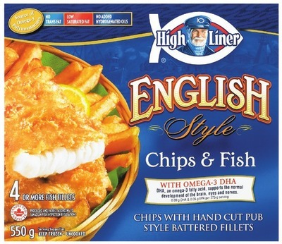 HIGH LINER MARKET CUTS, TILAPIA FILLETS, MUSSELS IN GARLIC SAUCE OR ENGLISH STYLE FISH & CHIPS