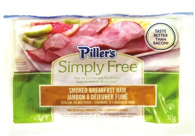PILLER'S BREAKFAST HAM OR CORNMEAL BACK BACON