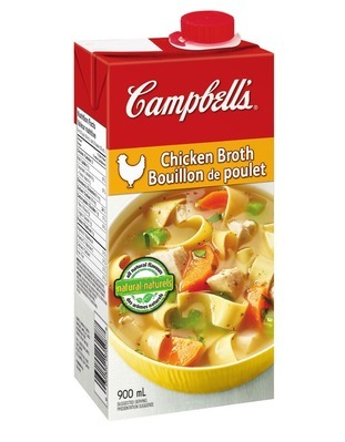 CAMPBELL'S CHUNKY SOUP OR BROTH OR HABITANT READY TO SERVE SOUP