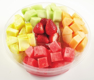Fresh Cut Fruit Carousel