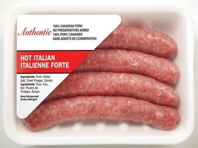 AUTHENTIC ITALIAN SAUSAGES